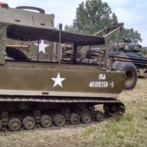 Caterpillar D8 Dozer - Angry 9 - WWII Military Vehicles and Prop